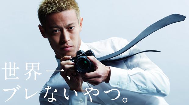 本田圭佑とe-m5 mark2