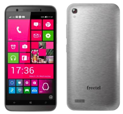 freetelのWindows Phone