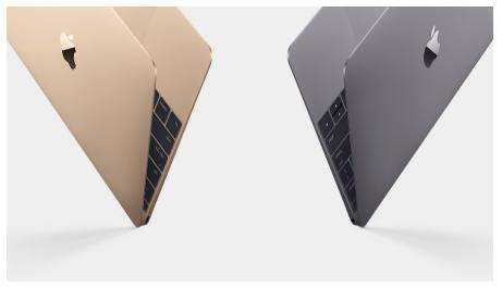 macbook12retina金とスペースグレイ